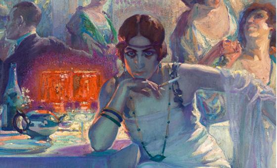 Arte incómodo: «Falenas» de Carlos Verger (1920)