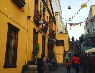 3 marzo – Arte urbano en Valparaíso